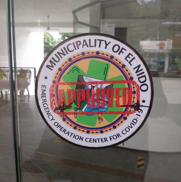 hotels palawan philippines resorts moringa estampillé certifié par El Nido LGU certified by