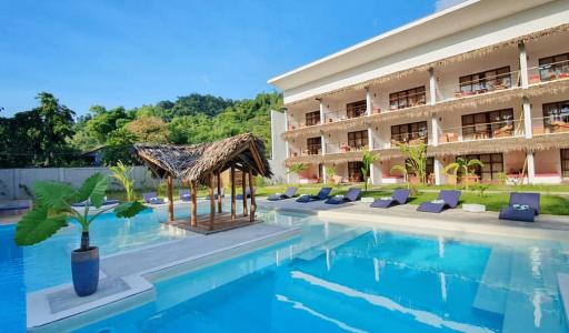 el nido hotels palawan philippines resorts luxe luxury pool piscine