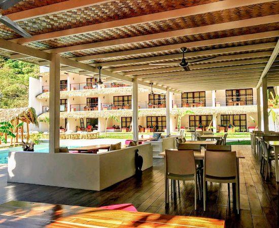 resorts moringa coco pool piscine luxe luxury relax massage restaurant diner
